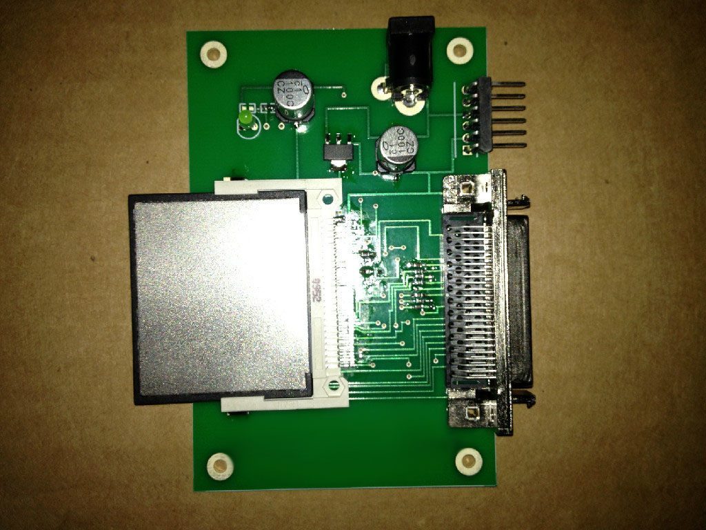 SCSI_Compact-Flash_Adapter