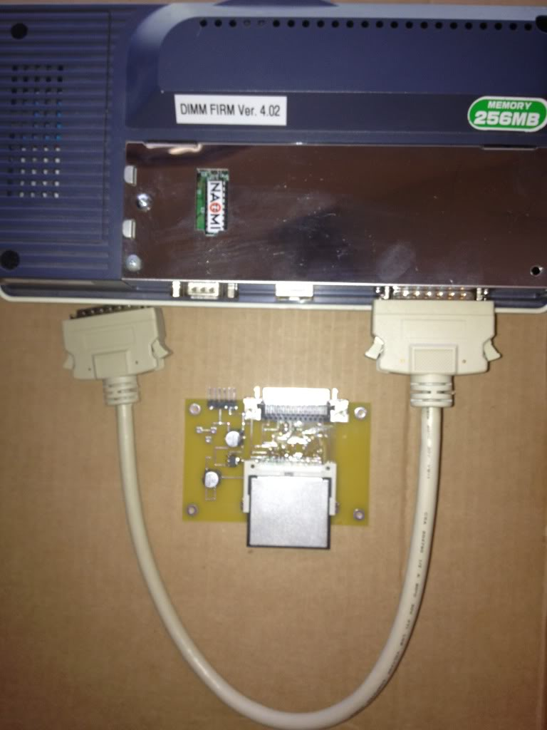 $360.00 shipped in US=Sega Naomi Compact Flash system with Net DIMM